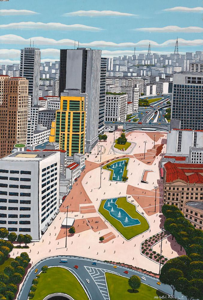 Praça do Correio - Agostinho Batista de Freitas (1927-1997)