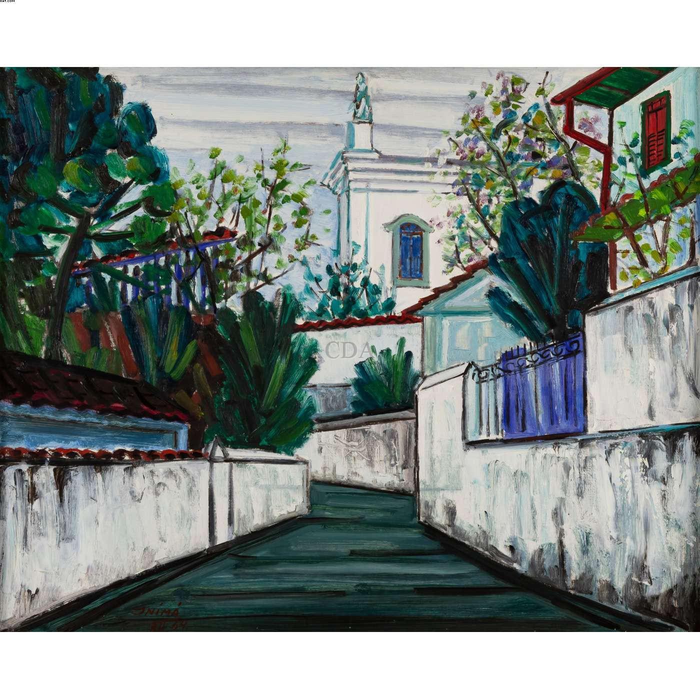 Rua em Santa Tereza/RJ - Inima José de Paula - Inima de Paula - Inima - Inimá