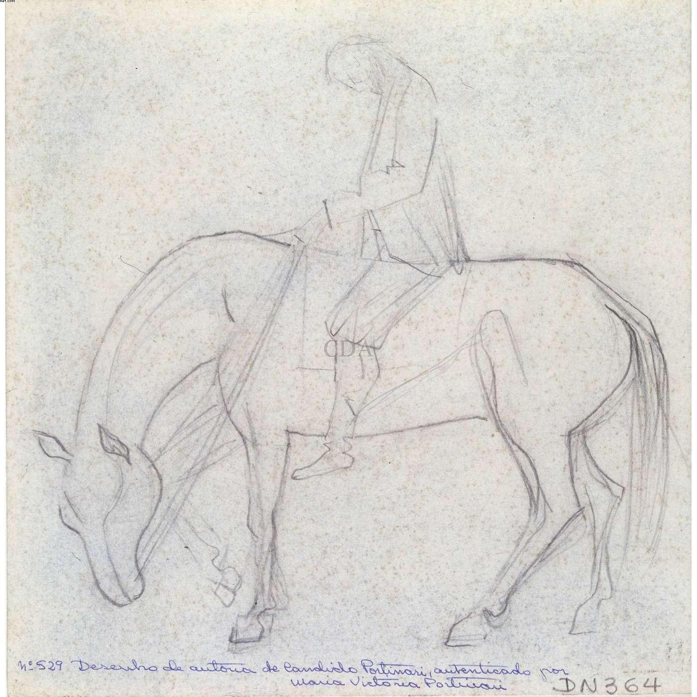 Homem a cavalo - Candido Portinari (1903-1962)