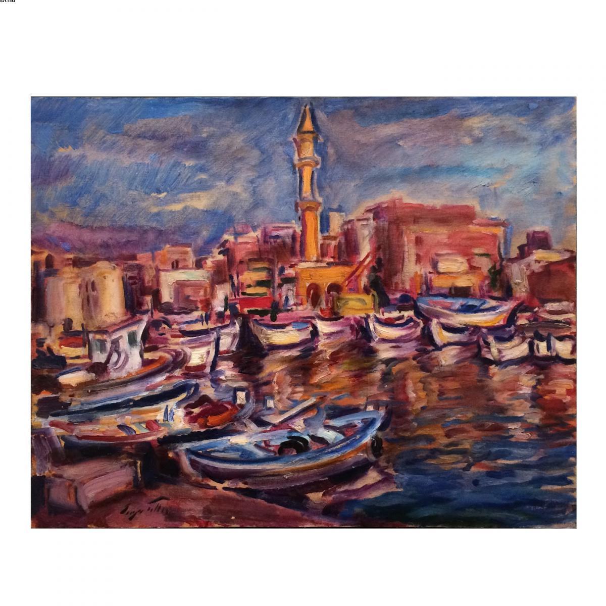 Marina com barcos - Sergio Telles
