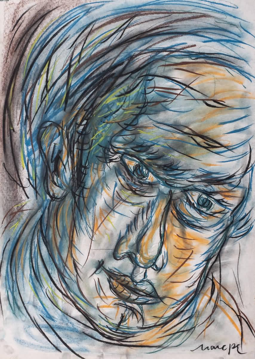 Rosto de homem - Marepe (1970)