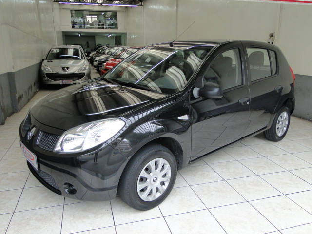 SANDERO AUTHENTIQUE 1.0 - 2011/2011 - PRETO 1