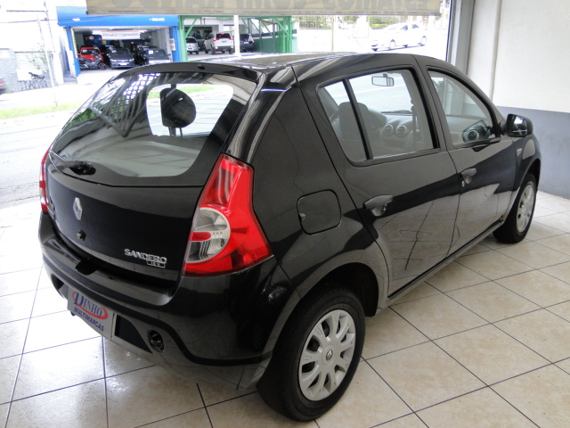 SANDERO AUTHENTIQUE 1.0 - 2011/2011 - PRETO 3