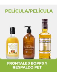 PELÍCULA / PELÍCULA: nueva línea de productos COLACRIL con frontales BOPPs y respaldo PET