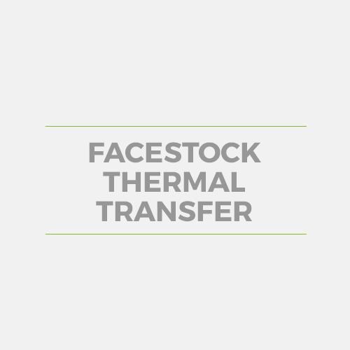 Facestock Thermal Transfer