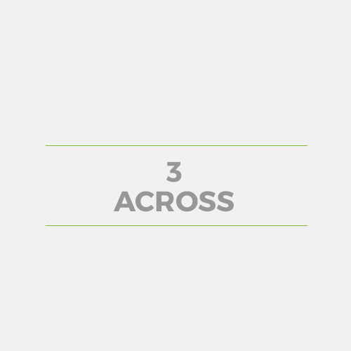 3 Across