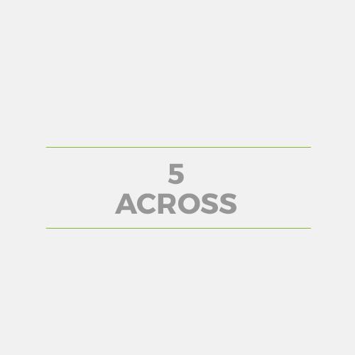 5 Across