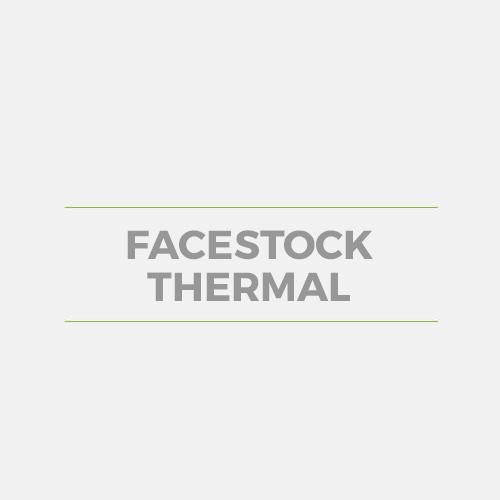Facestock Thermal