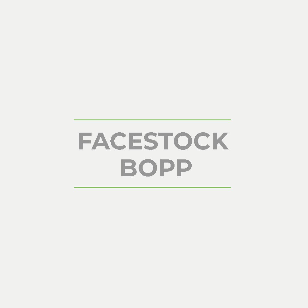 FACESTOCK BOPP