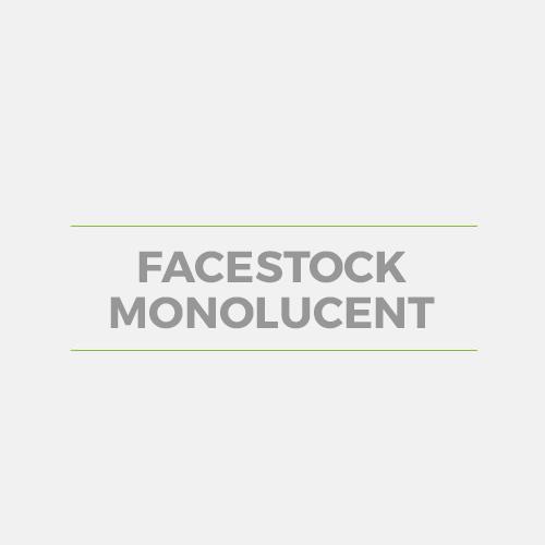 Facestock Monolucent