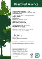 Certificate FSC