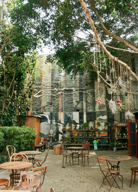 4 caf s donde huir del ruido de lima estarbien estar bien for Vivero casa jardin