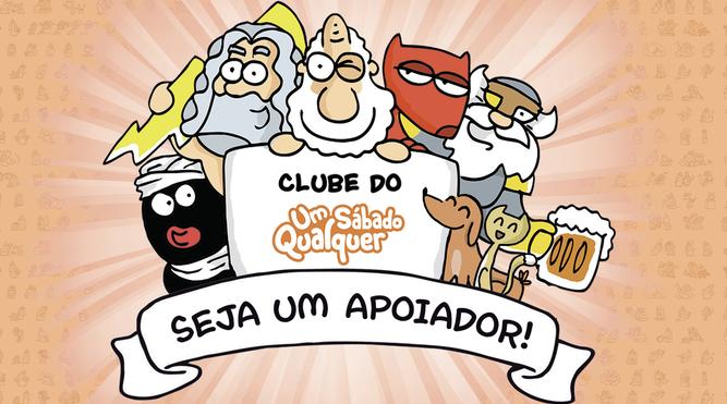 Carlos Ruas (Um Sábado Qualquer) lança um clube para apoiadores
