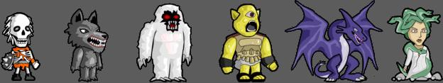 Gaiah RPG (04/10/18) Monstros