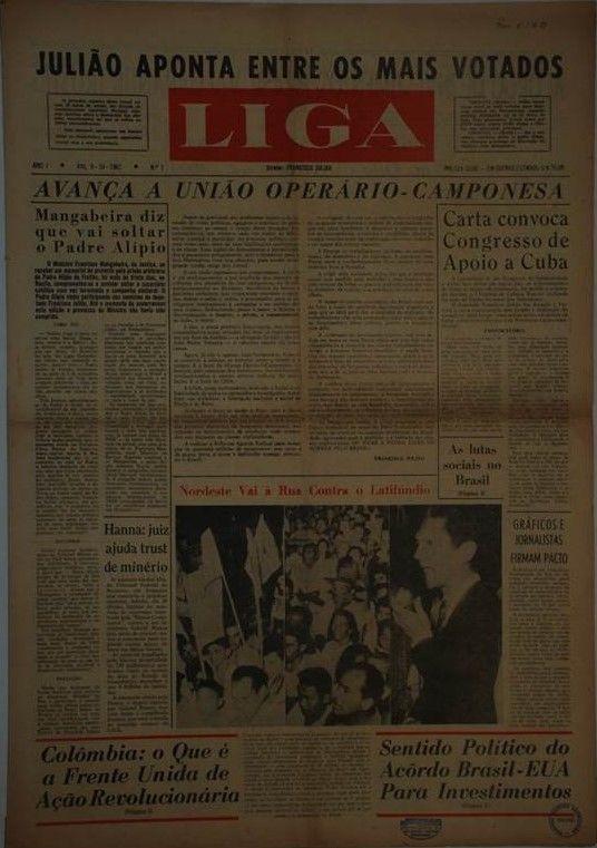 Coleção do Jornal LIGA sob guarda do CEDEM-UNESP.
