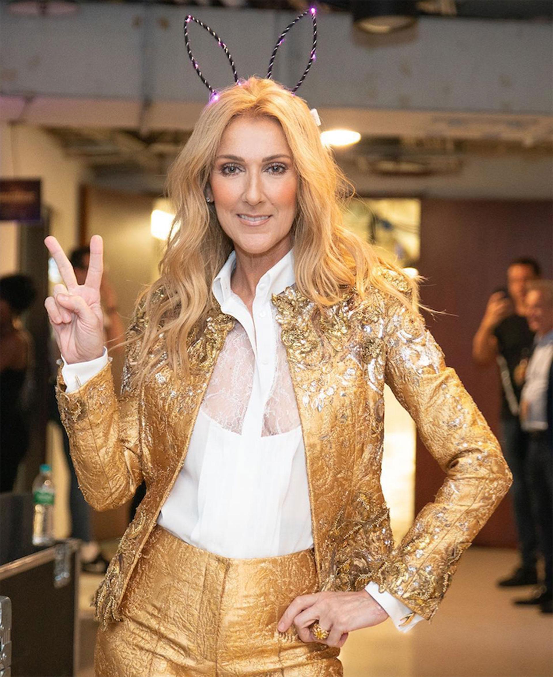 Cambio radical: Céline Dion trajo de vuelta el