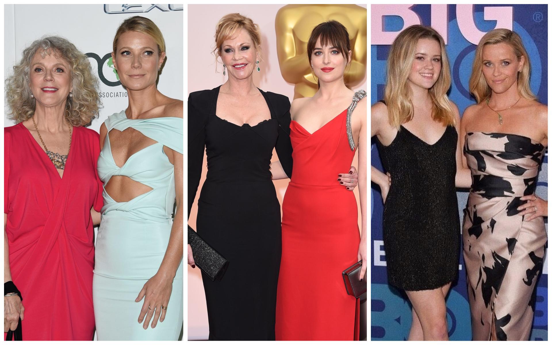 Madres e hijas de Hollywood, vocación y genética