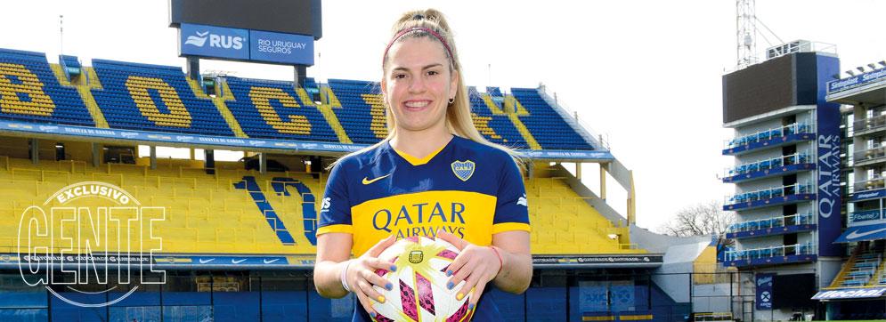 """Camila Gómez Ares, figura de Boca: """"Antes, si queríamos jugar al fútbol, las mujeres teníamos que poner plata"""""""