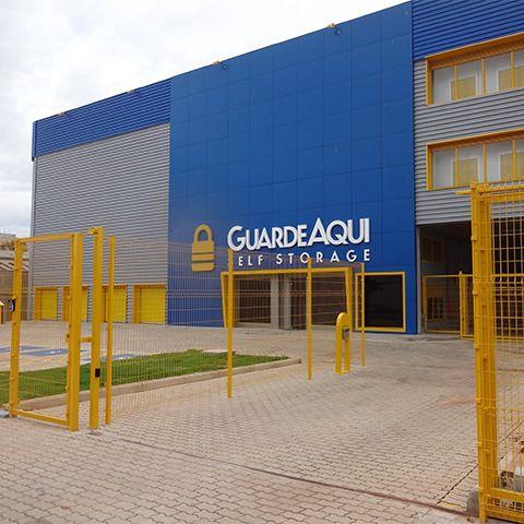 Fotografia da fachada do Guarde Aqui Unidade Belo Horizonte