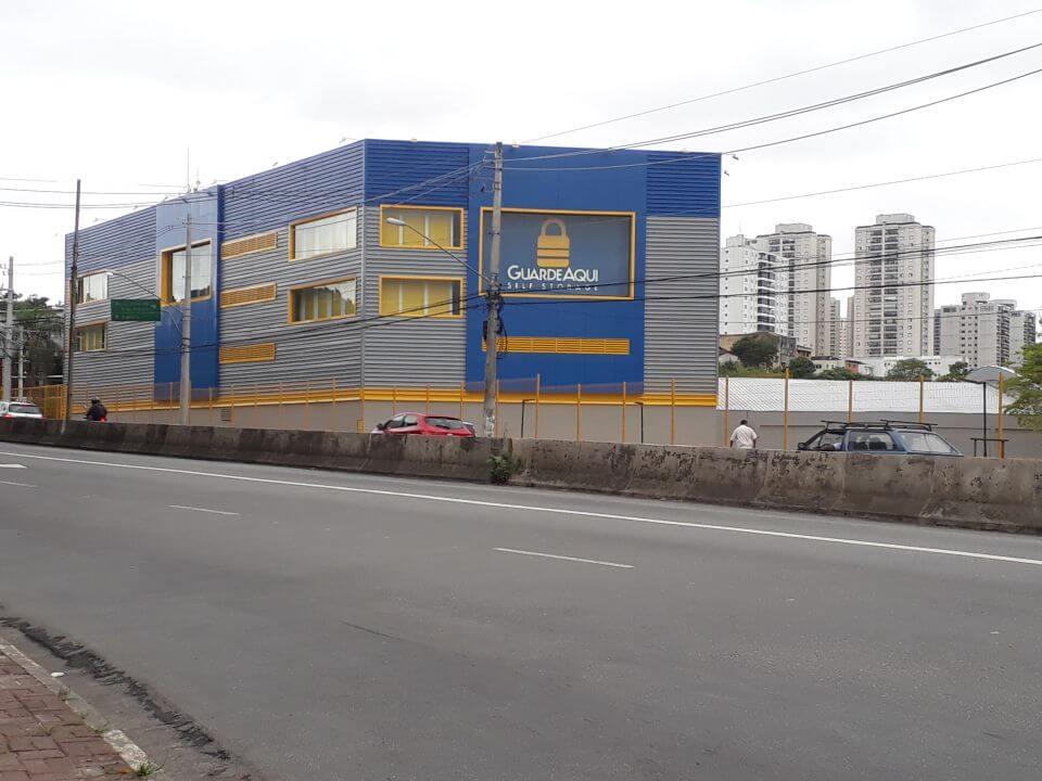 Fotografia da fachada do GuardeAqui Unidade Morumbi