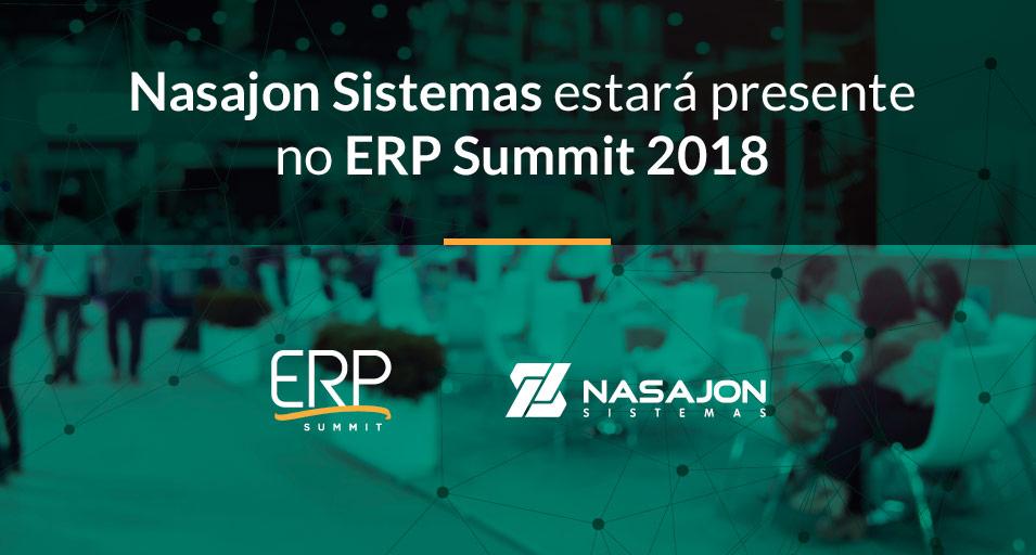 Nasajon Sistemas estará presente no ERP Summit 2018