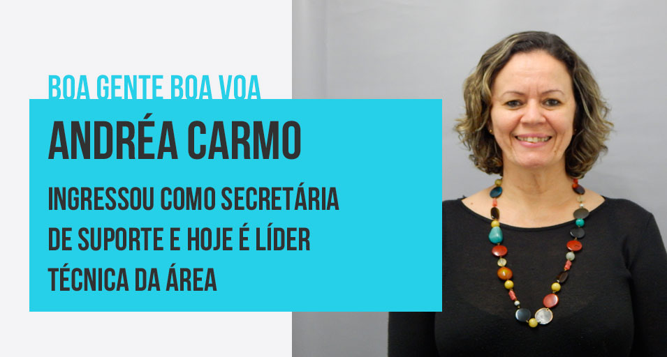 Boa Gente Boa Voa - Andréa Carmo