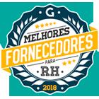 Melhores fornecedores de RH 2018 prêmio.