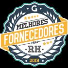 Selo Melhores Fornecedores para RH 2019.