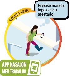 Meu Trabalho - Oferece aos seus funcionários um centralizador de solicitações para o DP diretamente pelo celular.