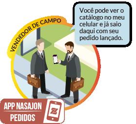Pedidos Mobile - Facilite a gestão do processo de vendas e o trabalho em campo de vendedores e representantes comerciais.