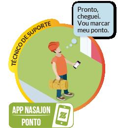 Ponto Mobile - Registre as marcações de ponto pelo celular, com geolocalização e reconhecimento facial.