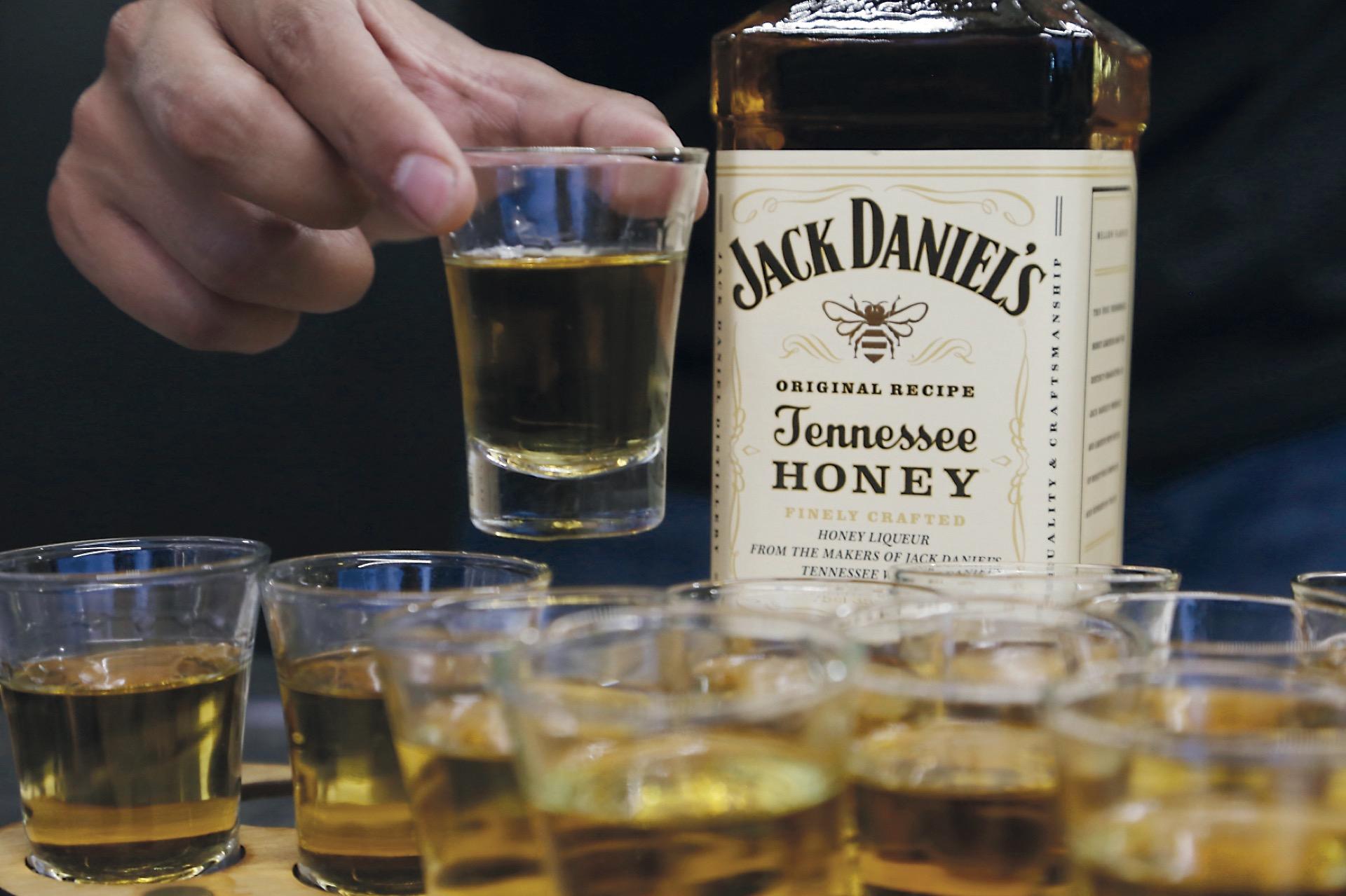 Un shot de Jack Daniel's Honey.