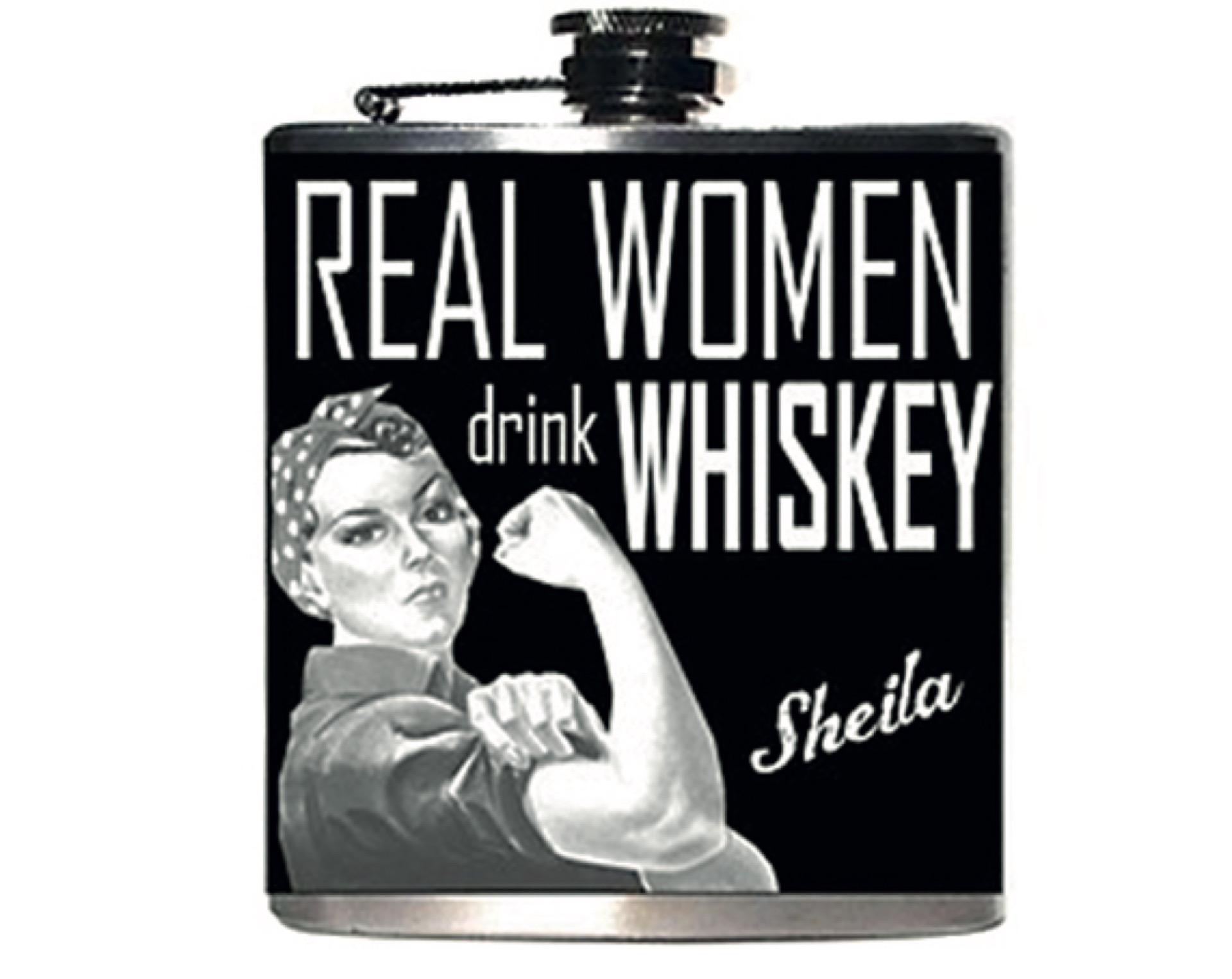 El whisky dejó su impronta exclusivamente masculina.