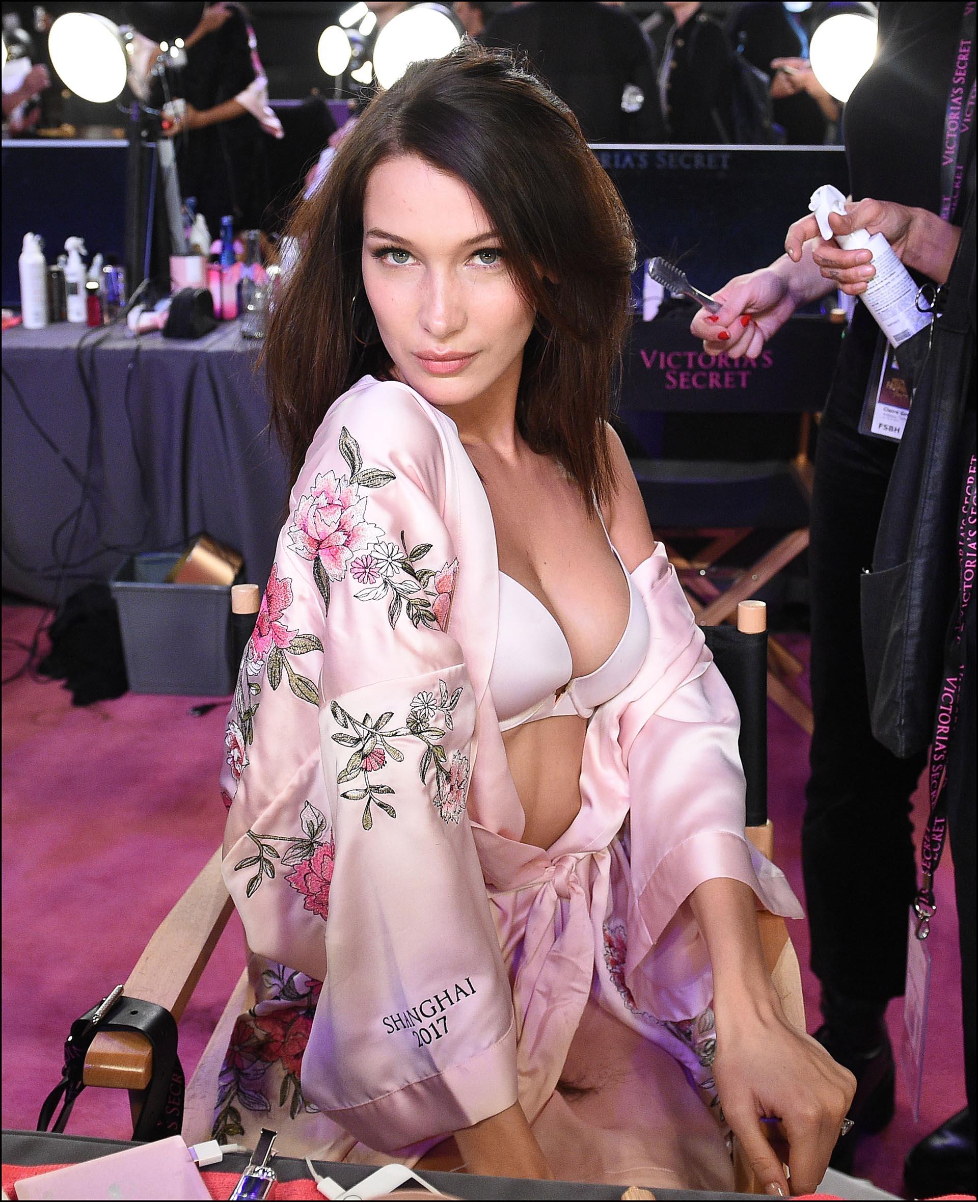 Bella Hadid también forma parte de los ángeles