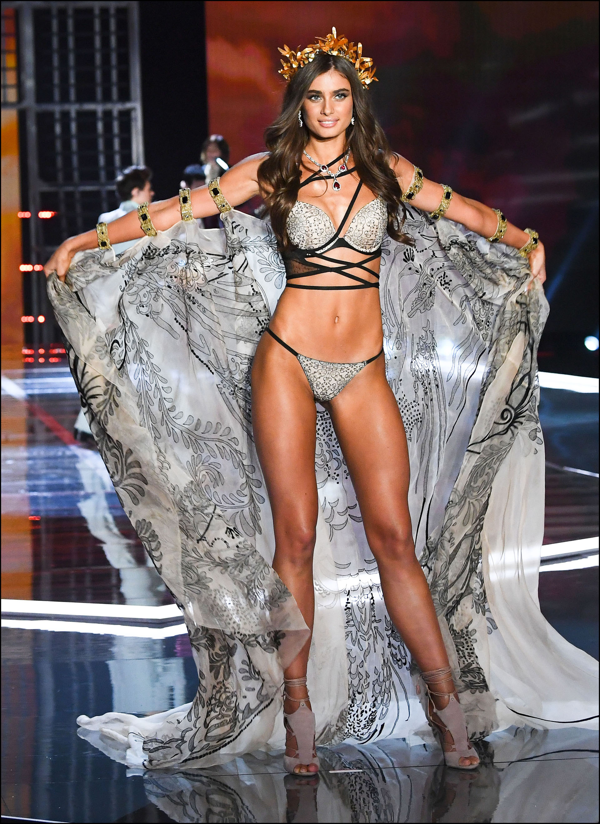 Taylor Hill is seen on stage at the Victoria