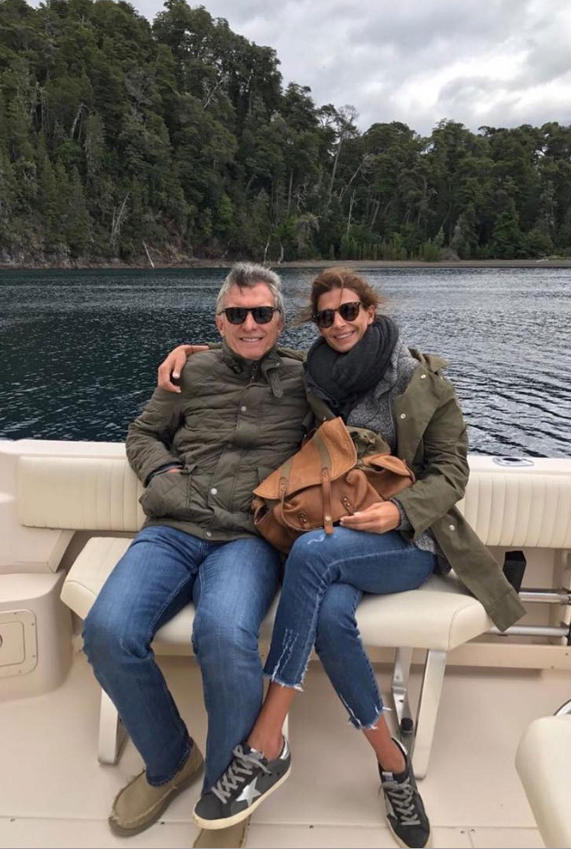 Macri y Juliana Awada vacaciones catamaran sur SF