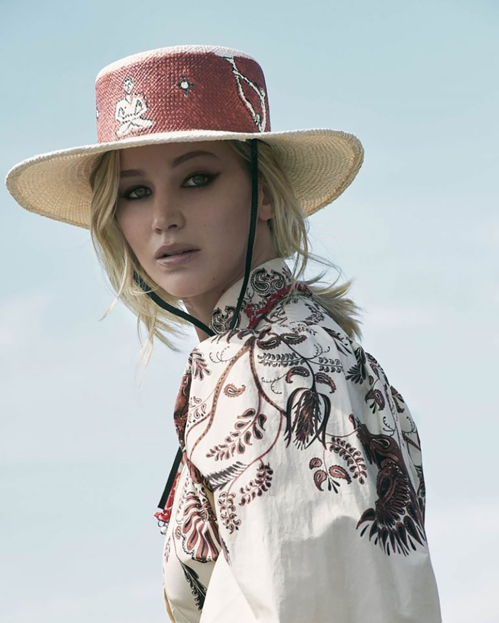 Jennifer Lawrence elegida desde 2012 por la firma Dior como musa de la maison