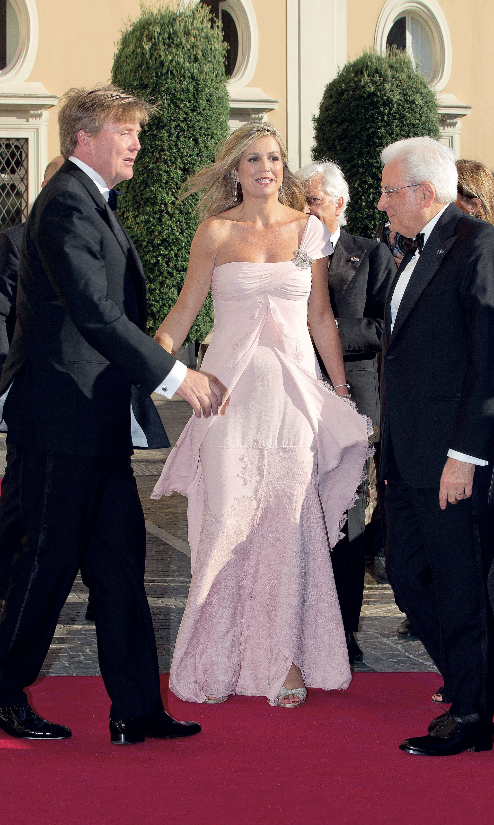 King Willem-Alexander and Queen M·xima in Italy