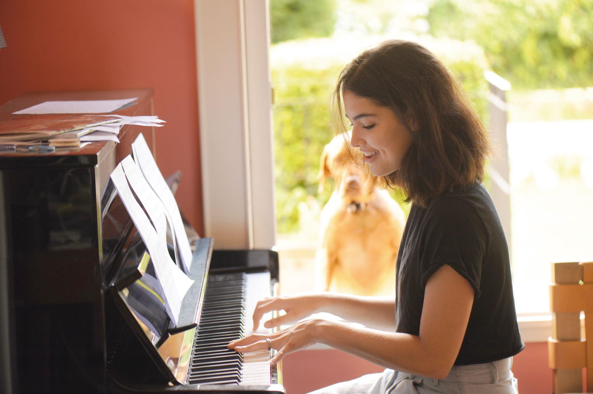 # PARA TI - ALEXIA BOSCH - NEWS - Tocando el piano- AG - 20180105