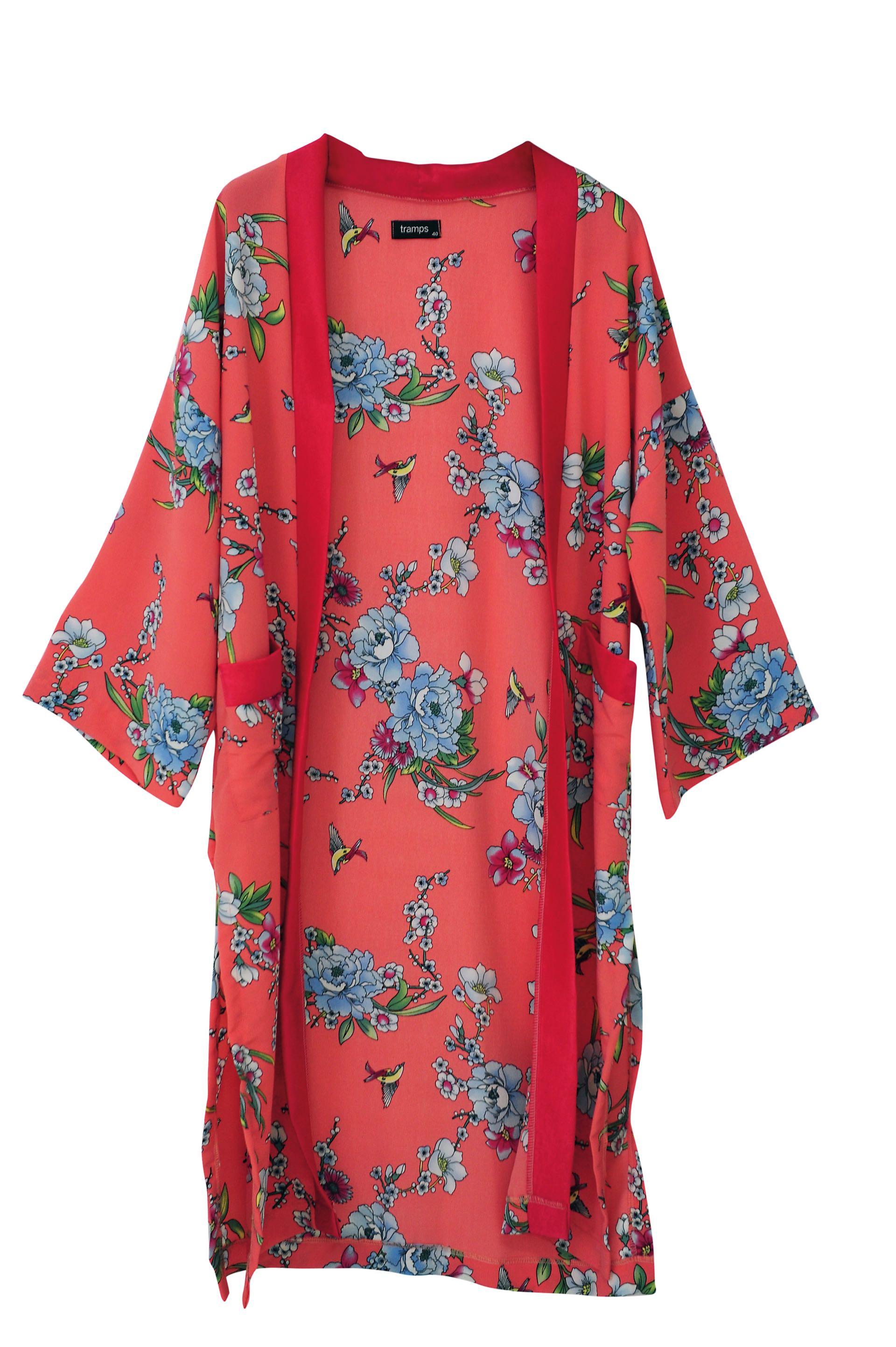 Kimono estampado (Tramps).