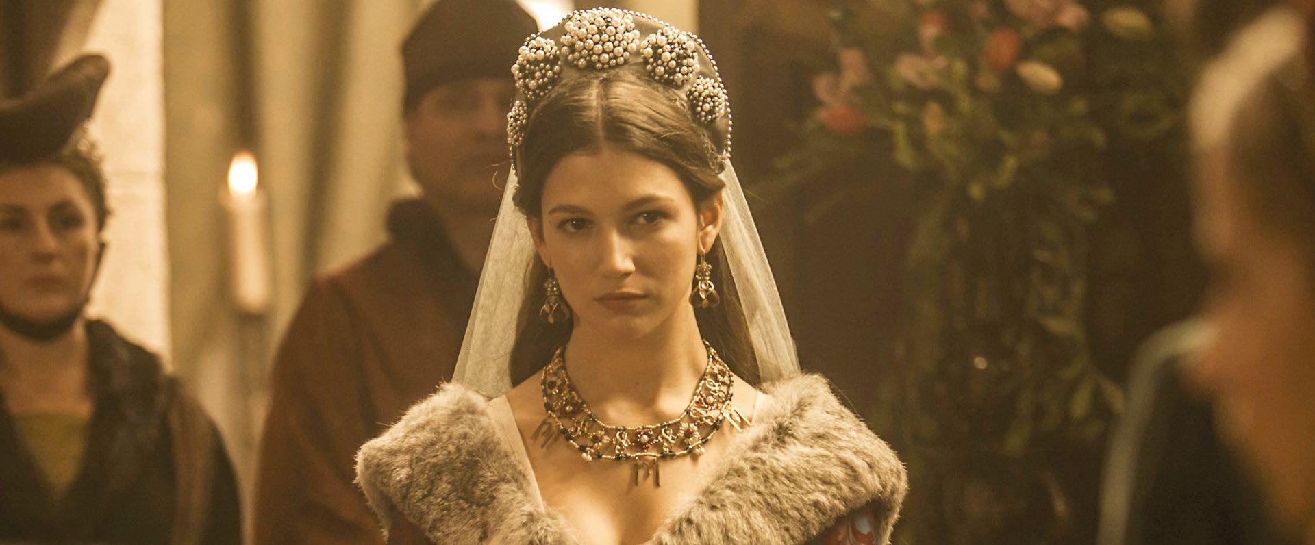 Úrsula, en 2014, en la serie Isabel.