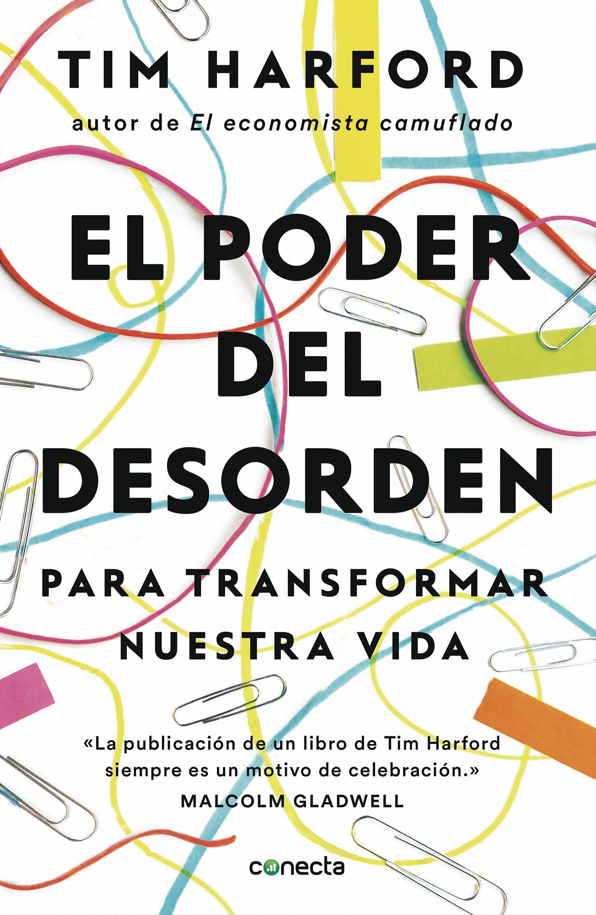 """""""El poder del desorden"""", de Tim Harford."""