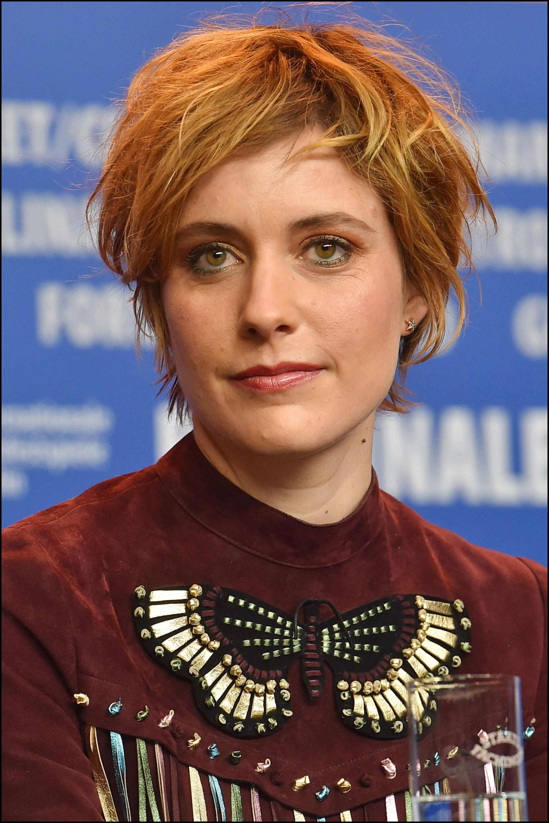 "Greta Gerwig - ConfÈrence de presse du film ""Maggie a un plan"" (Maggie"