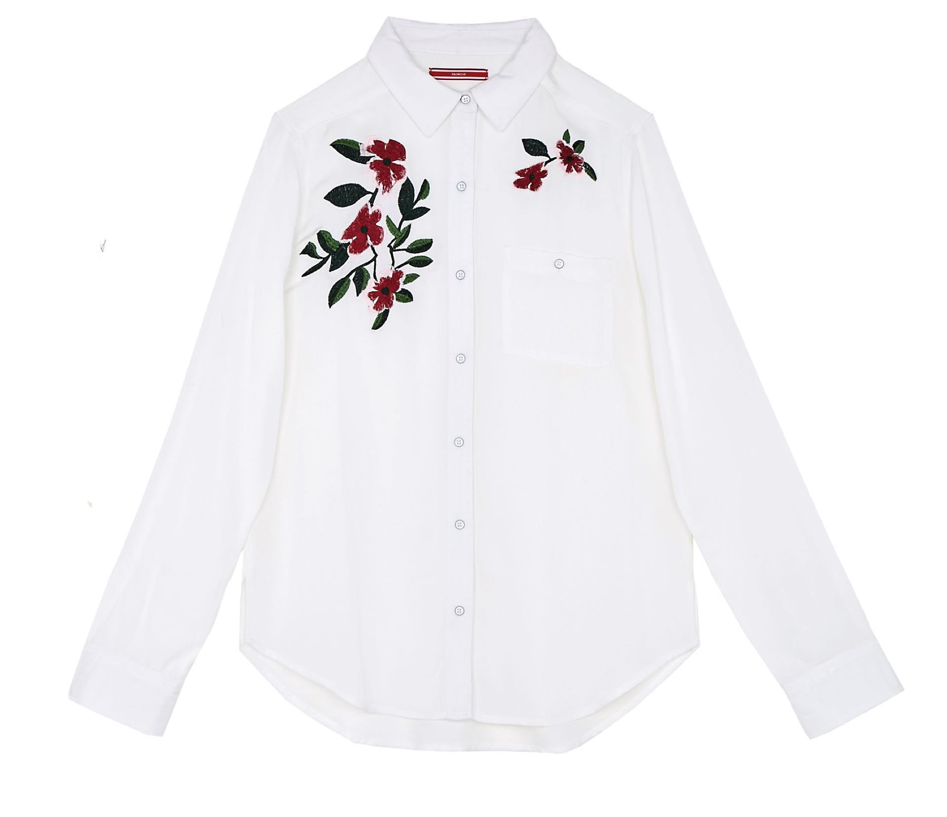Camisa bordada (antes $ 1.499, AHORA $ 799, Yagmour).