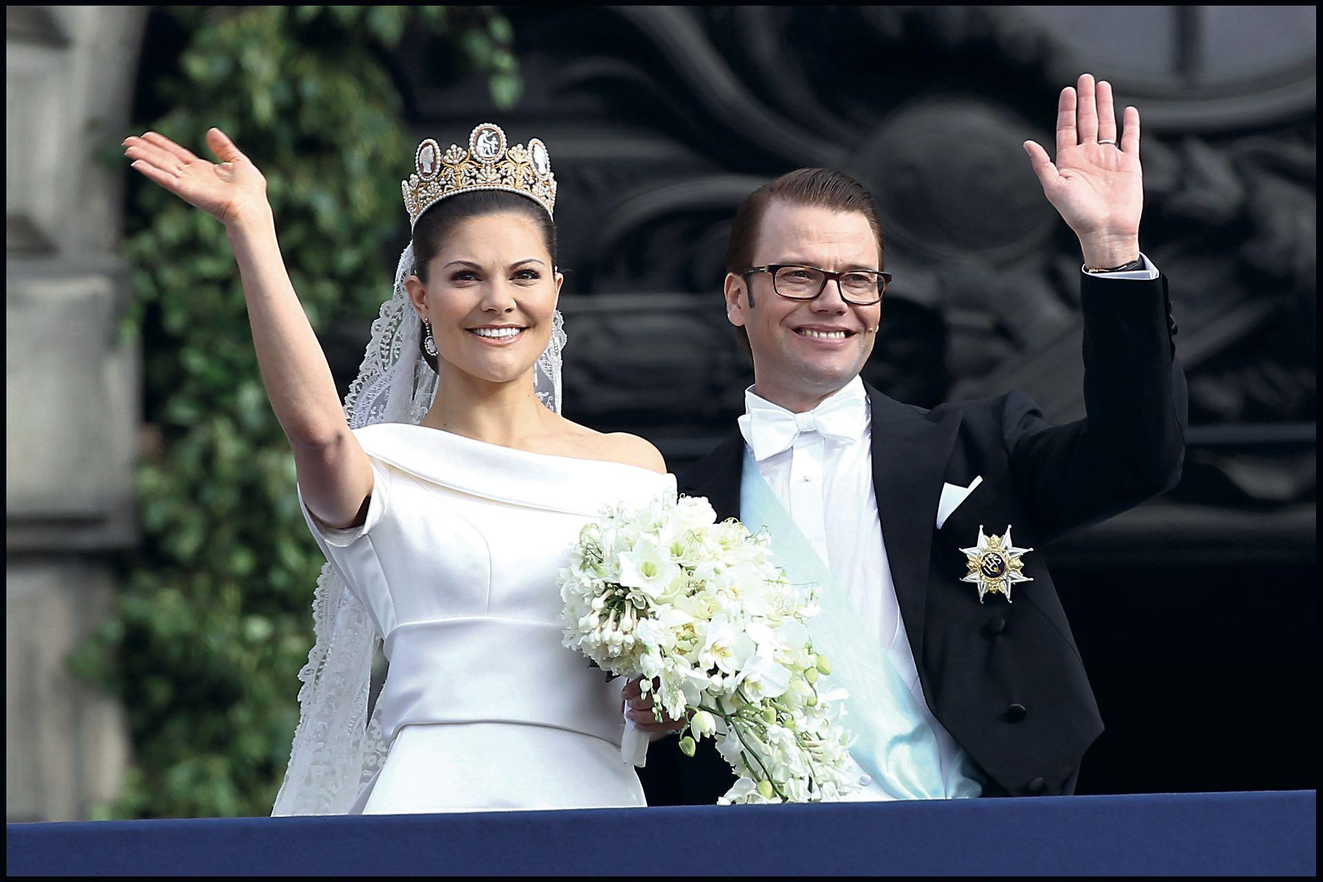 Daniel Westling es príncipe de Suecia y duque consorte de la princesa heredera de Suecia, Victoria