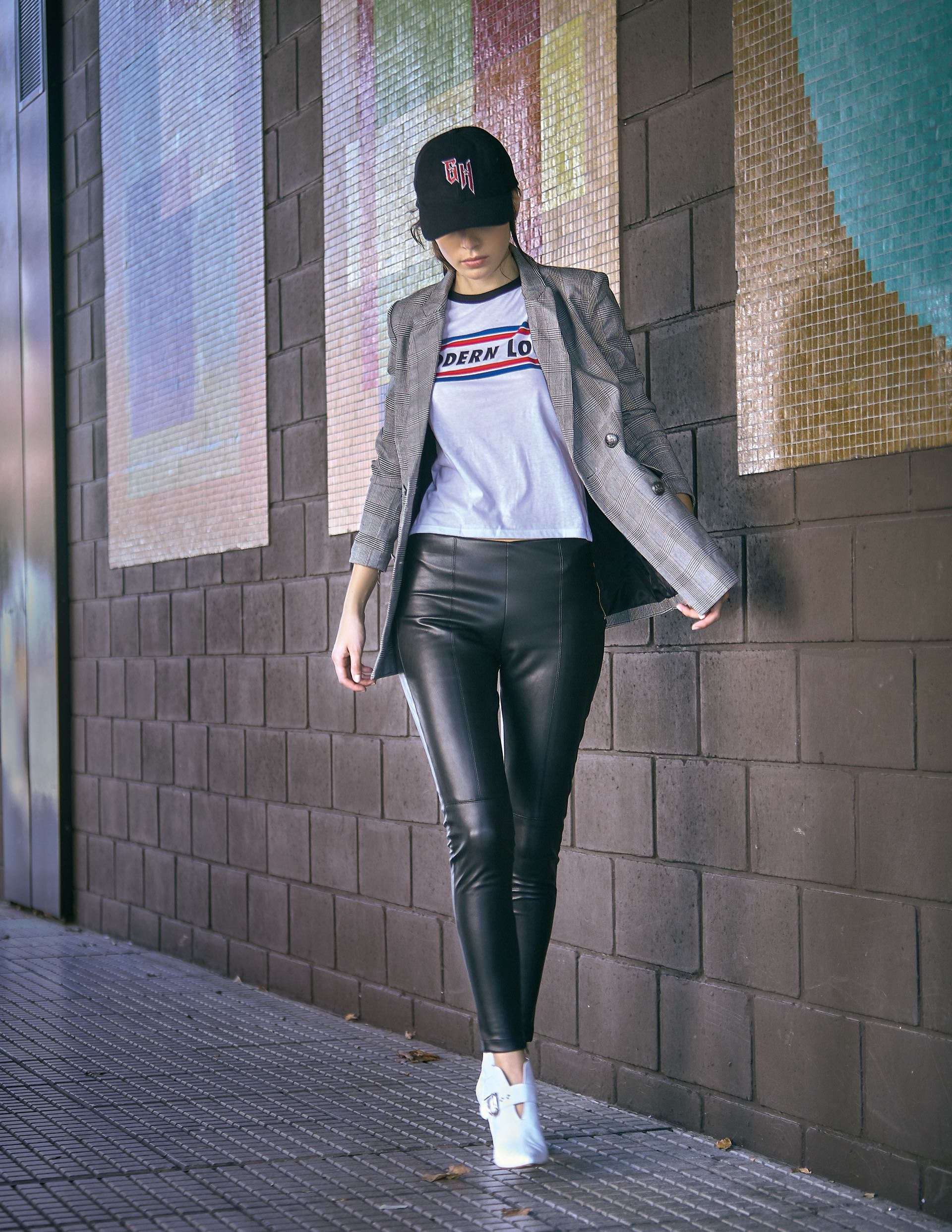 #PARA TI - MODA URBANA- moda - Blazer Principe de Gales Basement - JR - 20180309