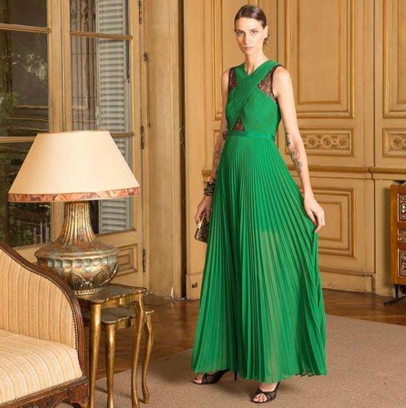 Vestido verde de BCBC