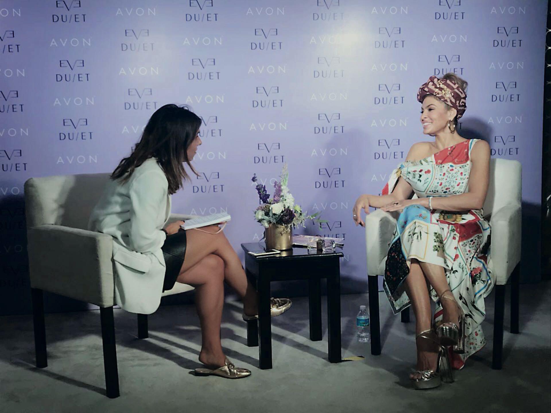 Durante la entrevista con Para Ti.