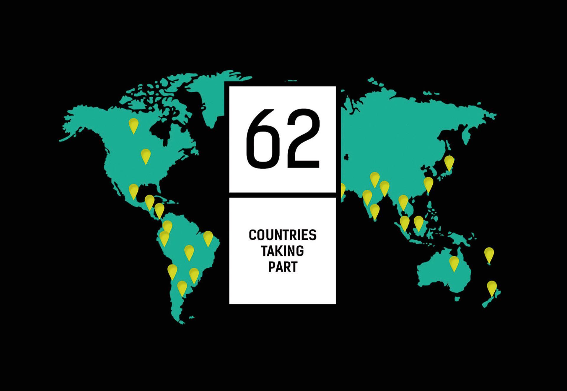 El movimiento se globalizó y alcanza a 62 países del mundo. El fashion revolution se hace notar desde los diseños de flyers de lo más originales.