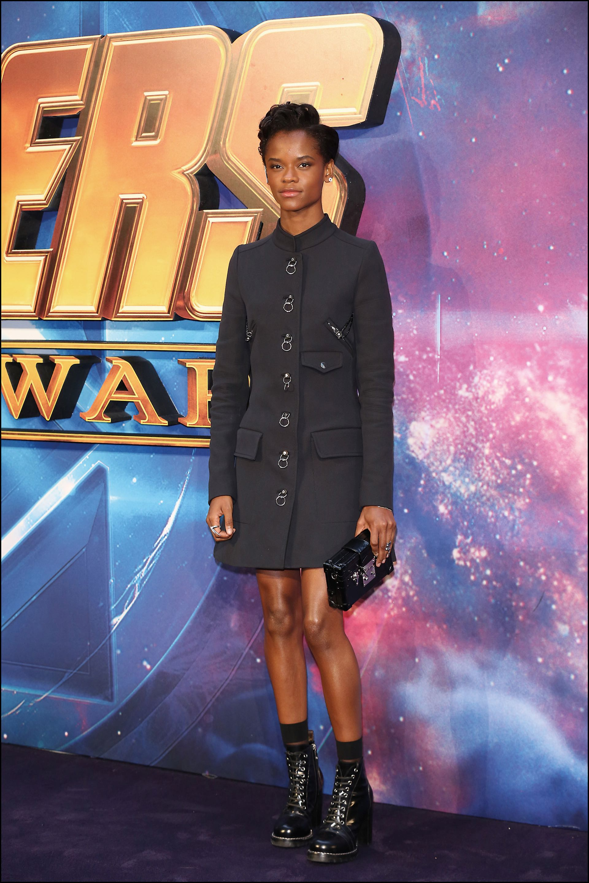 Letitia Wright interpreta a Shuri